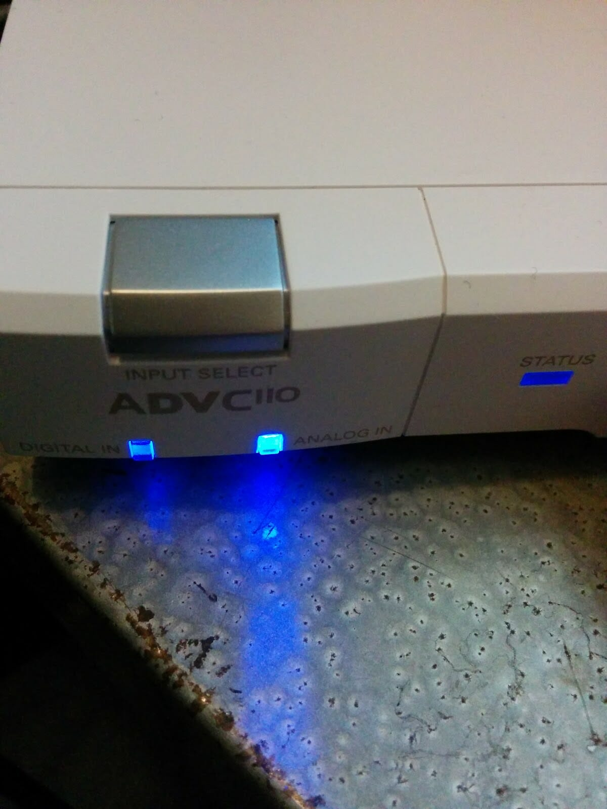 Canopus ADVC110 analog in