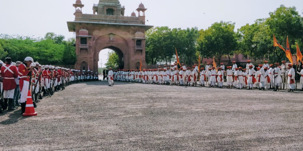 In Bikaner, I played a British soldier as an extra in the Bollywood movieManikarnika: The Queen of Jhansi