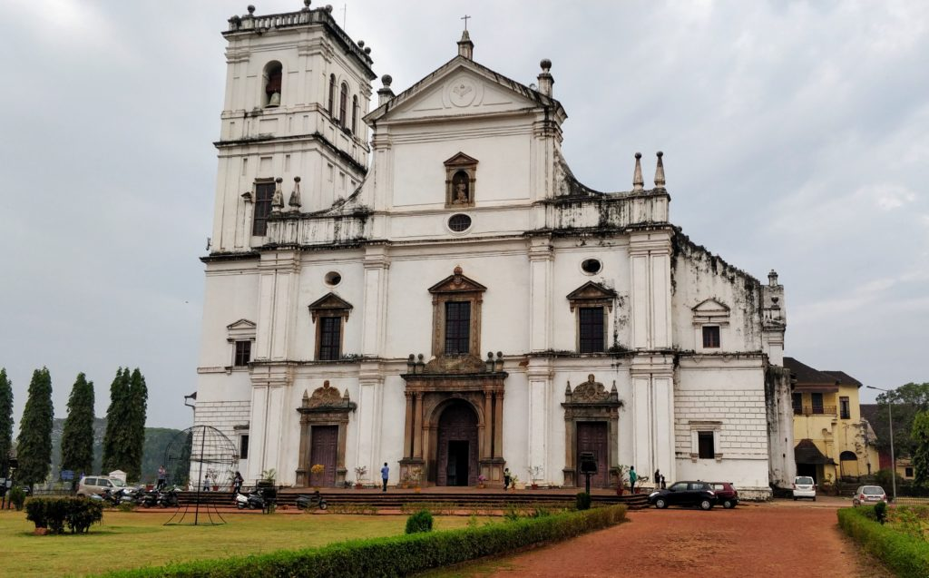 I attended a Roman Catholic mass spoken in the Konkani language at the Se Cathedral in Old Goa