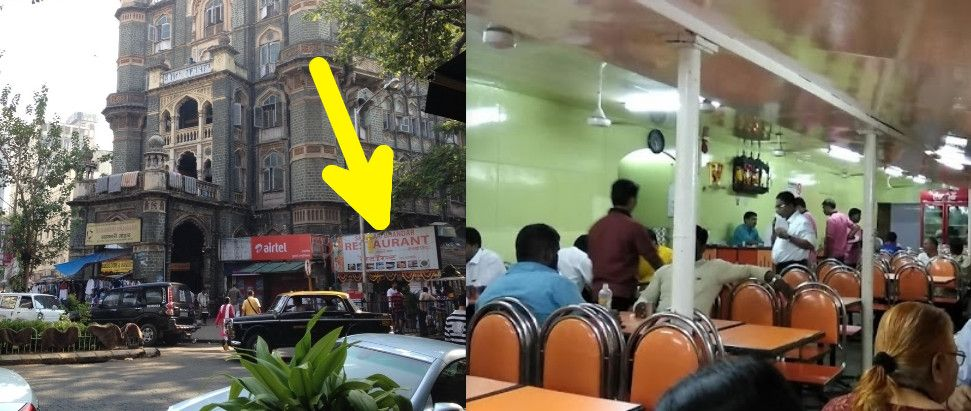 Sahakari Bhandar restaurant in Mumbai, India