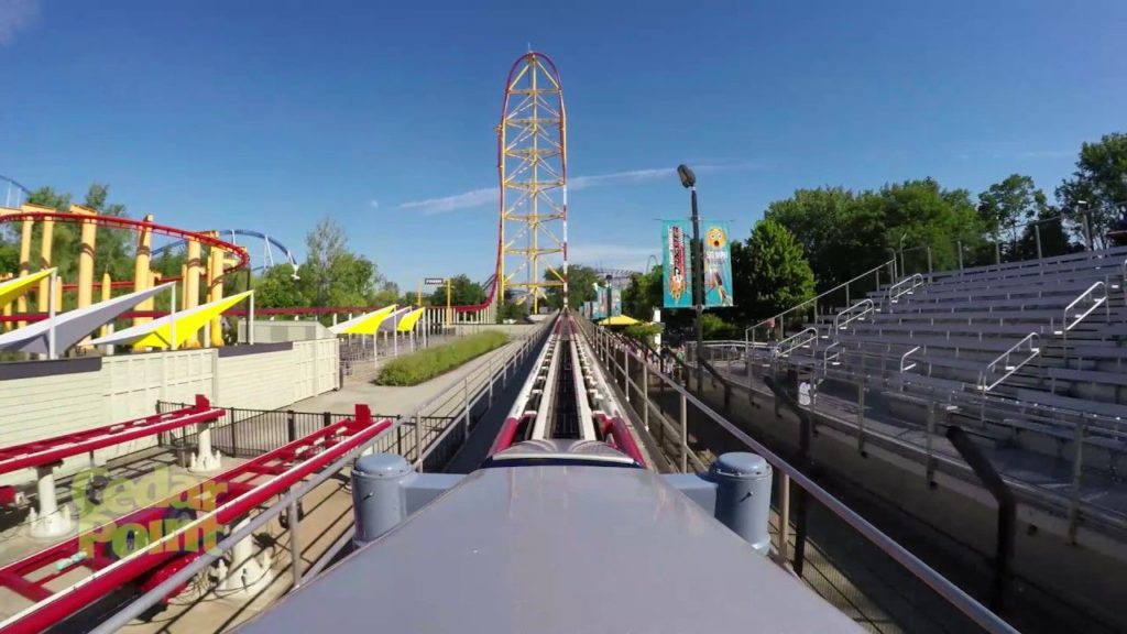 Top Thrill Dragster point of view