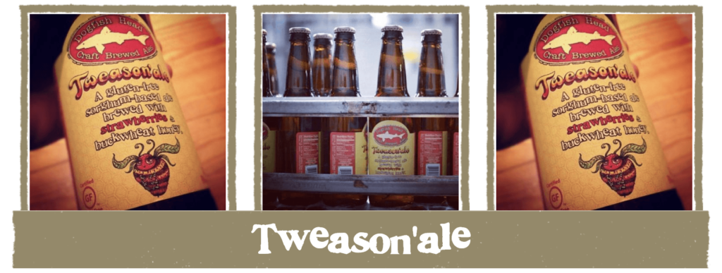 Dogfish Head Tweasonale gluten free beer