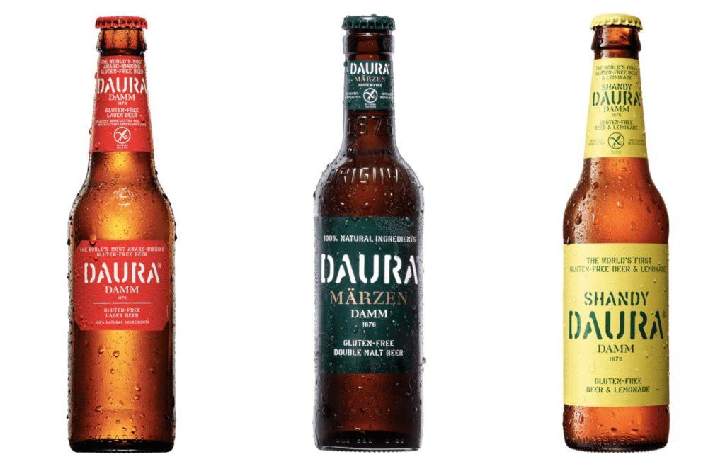 Estrella Damm gluten free beer