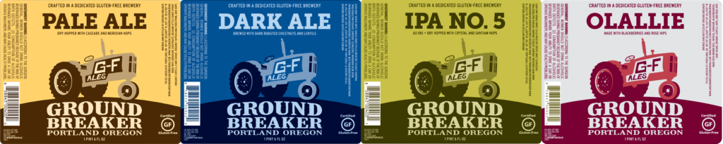 Ground Breaker Brewing gluten free beer