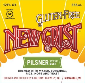 New Grist gluten free pilsner from Lakefront Brewery