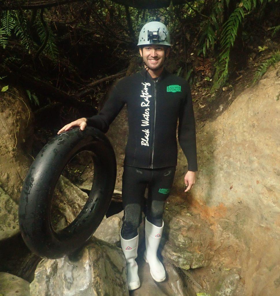 Black water rafting wetsuit