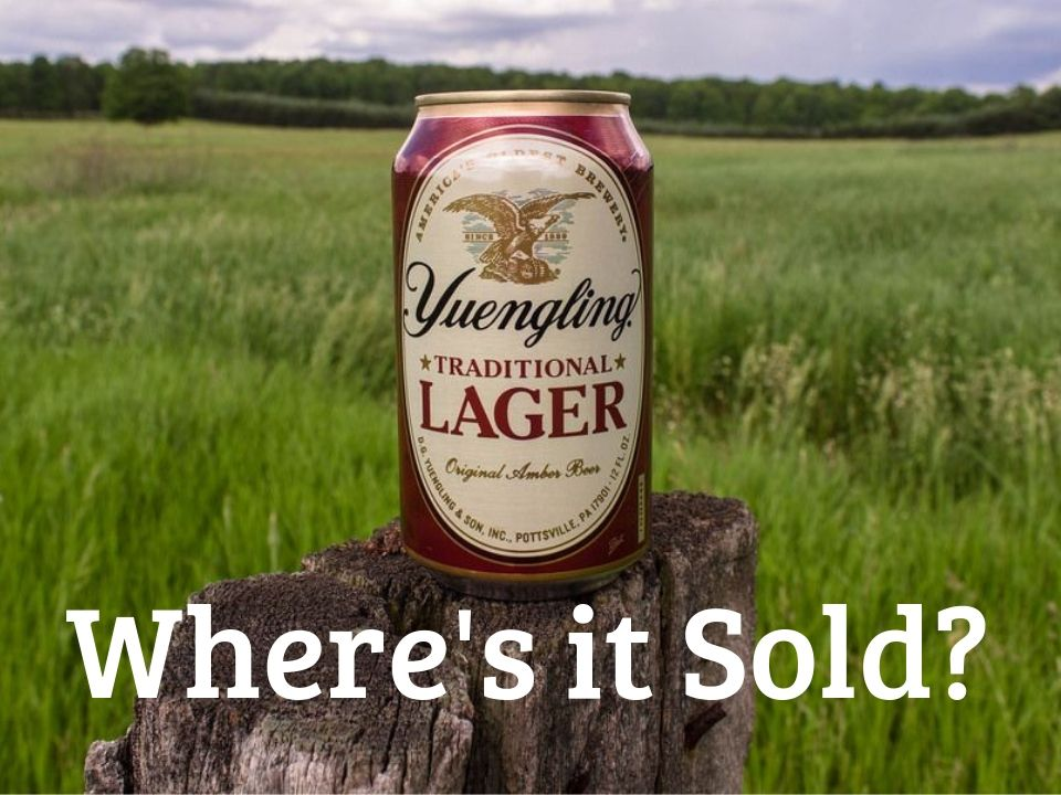 Yuengling beer distribution states
