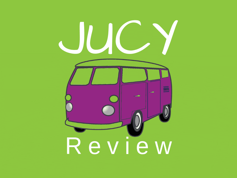 JUCY van and campervan rental review