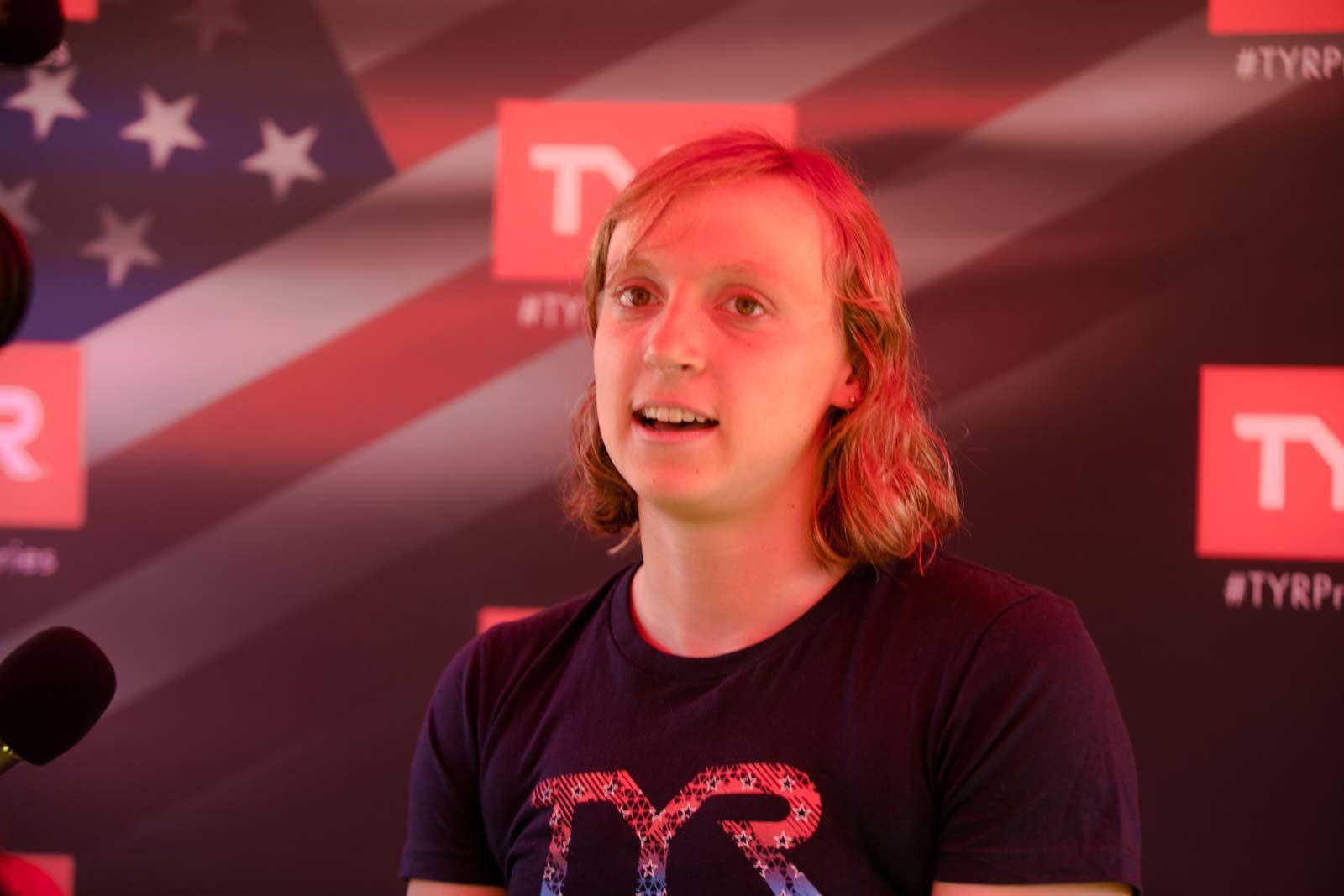 Katie Ledecky professional swimmer TYR