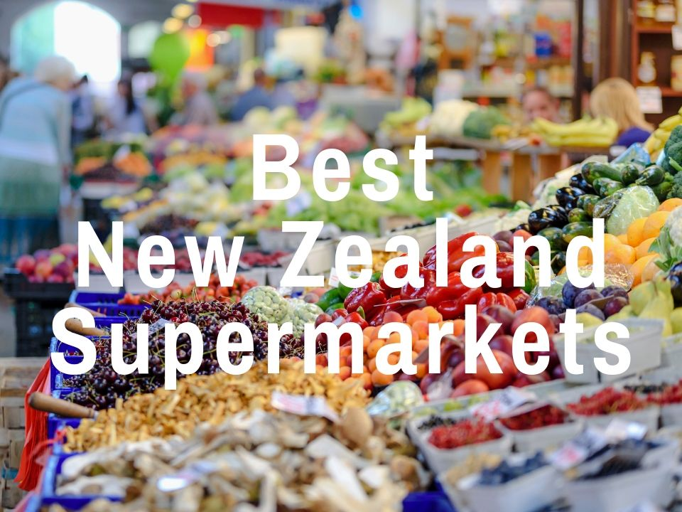 New Zealand grocery stores and supermarkets