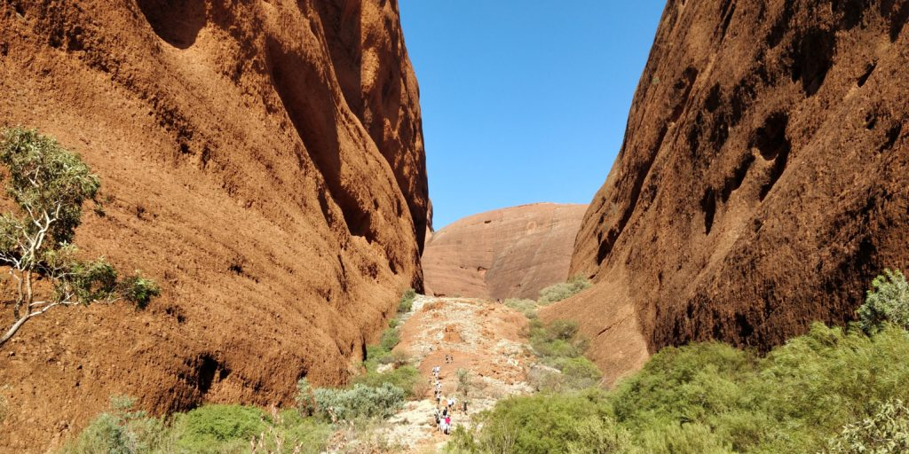 Valley of the Winds at Kata Tjuta