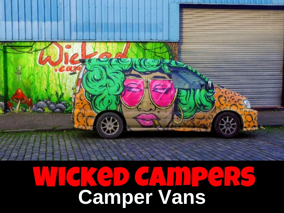Wicked Campers camper vans