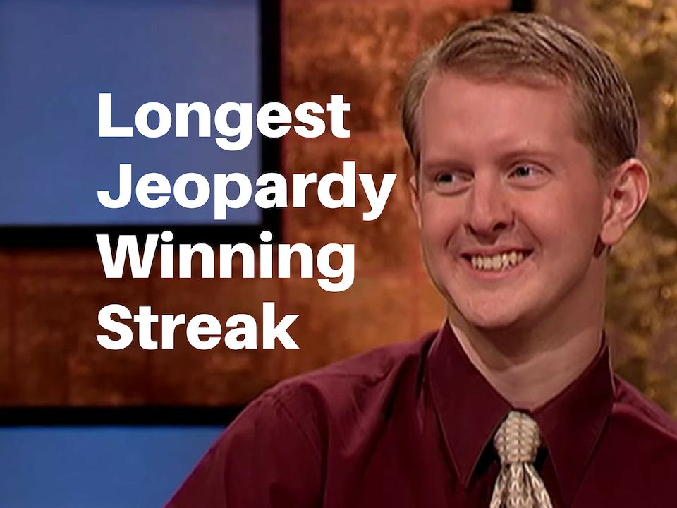 Longest Jeopardy streak