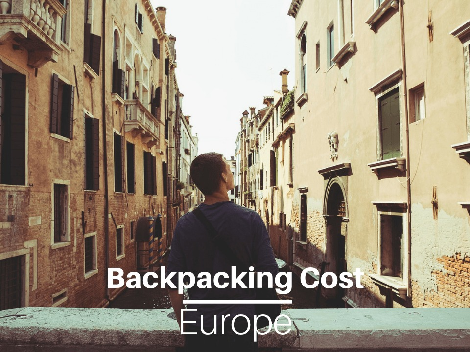 Backpacking Europe cost