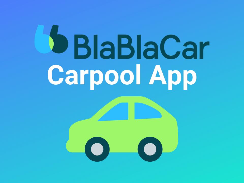 BlaBlaCar carpool and rideshare app