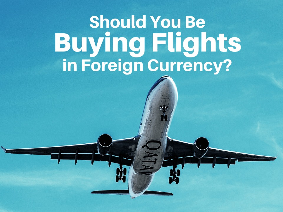 Booking flights in different currency