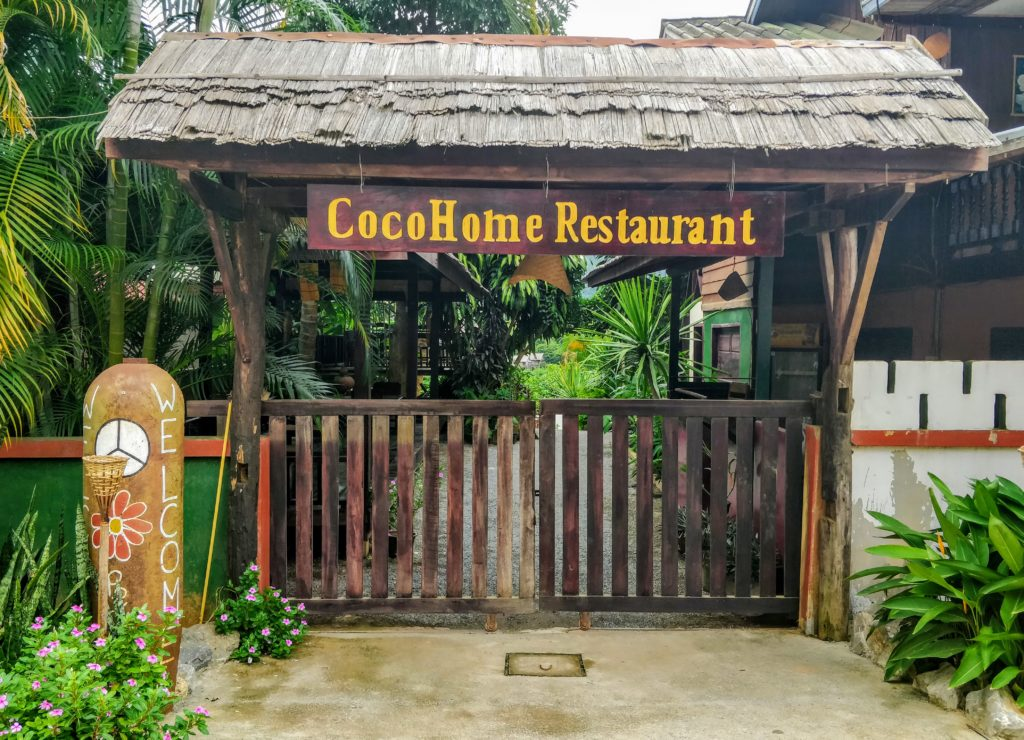 Coco Home Restaurant Nong Khiaw Laos