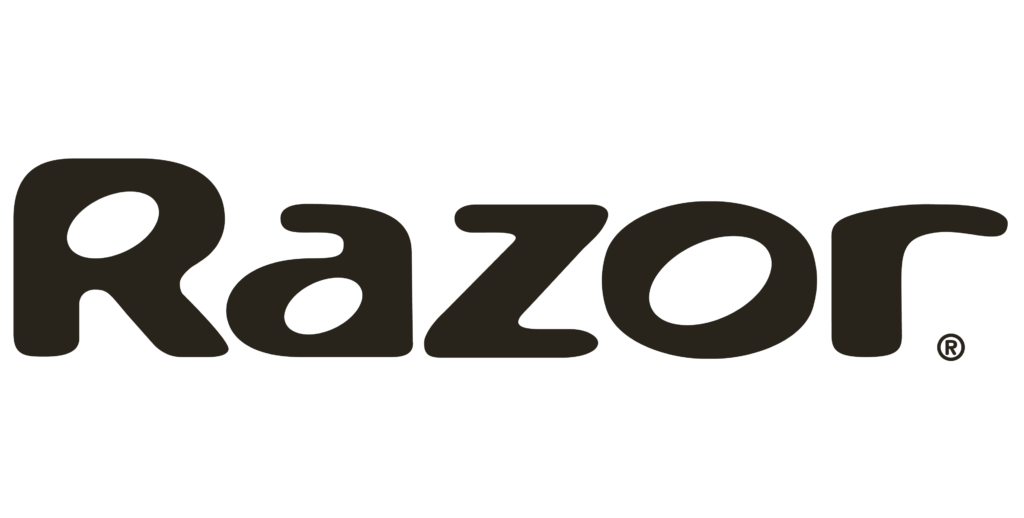 Razor electric scooter share logo