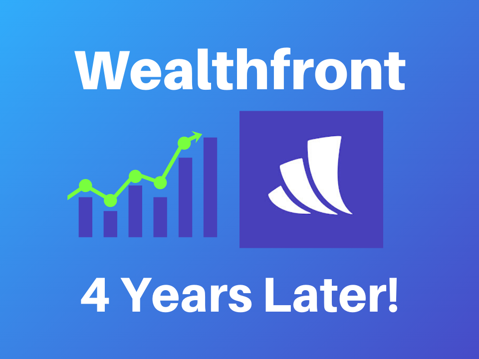 Wealthfront returns and review after 4 years